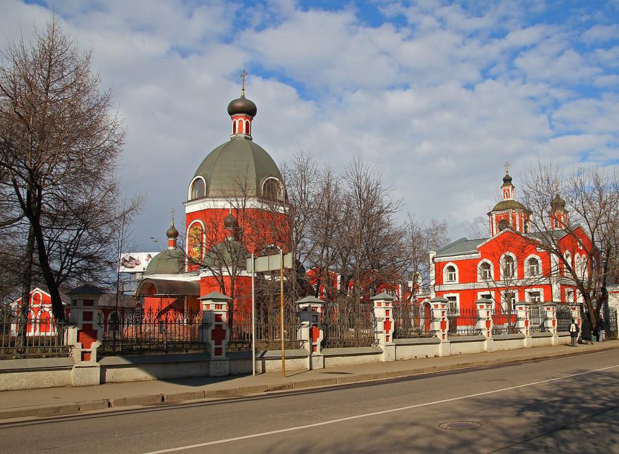Знаменская церковь в Переяславской слободе, Москва
