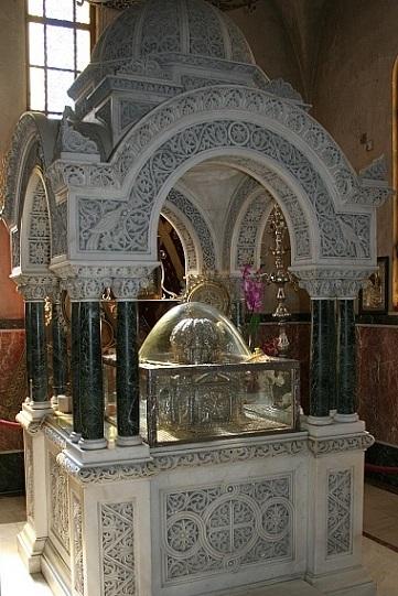 Глава апостола Андрея в Патрском соборе