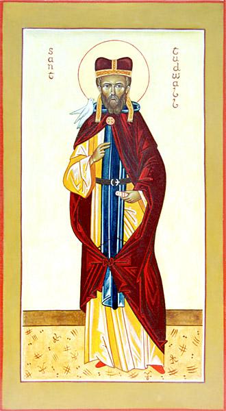 свт. Тудвал, Епископ Уэльский и Британский