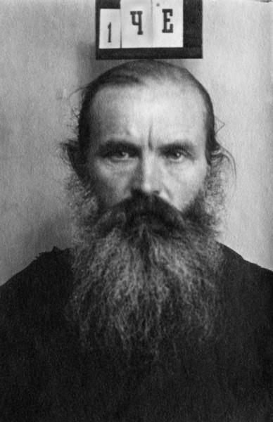 Священник Иоанн Честнов. Москва, тюрьма ОГПУ, 1930 год