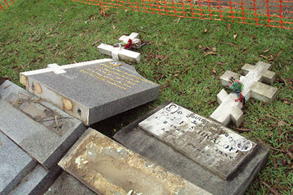 кладбище в сиднее 1