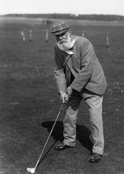 старый гольфист