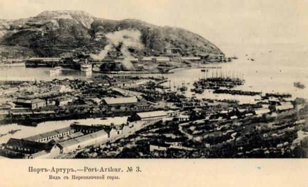крепость Порт-Артур, вид с Перепелочной горы