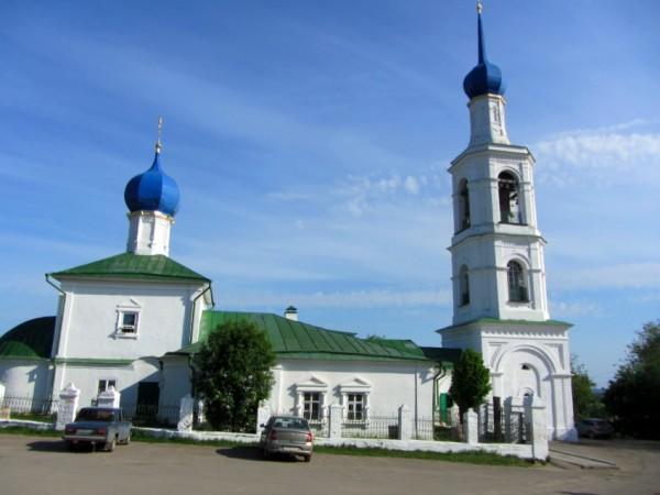Церковь Николая Чудотворца - Касимов - Касимовский район - Рязанская область