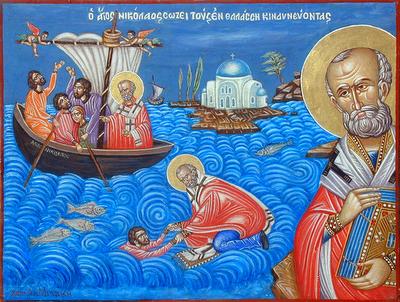 Святитель Николай Мирликийский, архиепископ 1