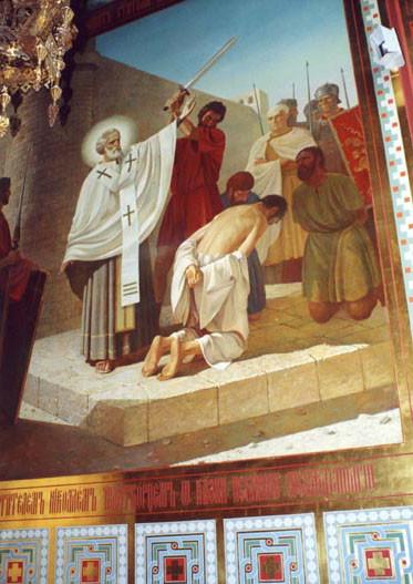 Святитель Николай Чудотворец спасает от смерти невинно осужденных
