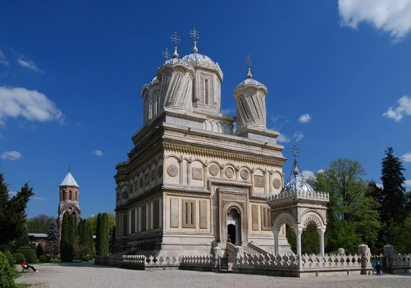 Куртя-де-Арджешский монастырь, Румыния