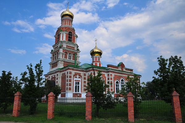 Церковь Параскевы Пятницы - Панино - Спасский район - Рязанская область