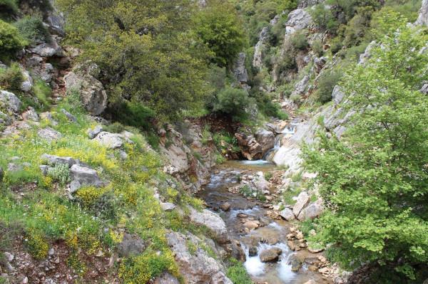 по пелопоннесу водопад