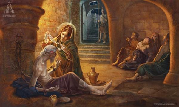 Великомученица Анастасия Узорешительница, художник Наталия Климова