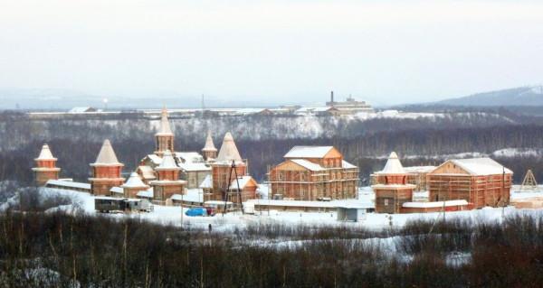 Трифонов Печенгский мужской монастырь во имя Всесвятой Троицы в п. Луостари