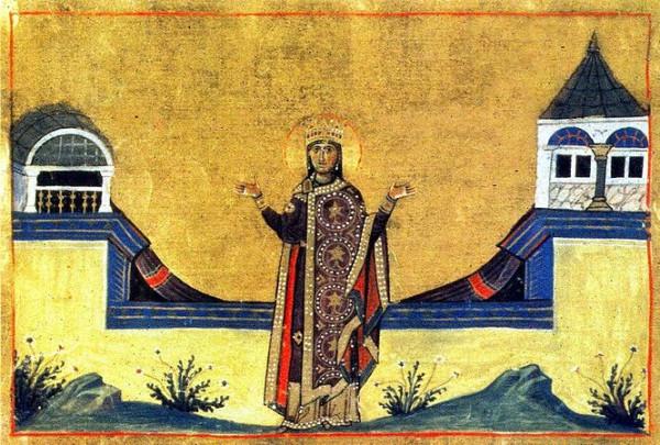Блаженная Феофания Византийская