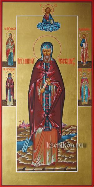 Преподобный Даниил (в сxиме Стефан) Нивертский