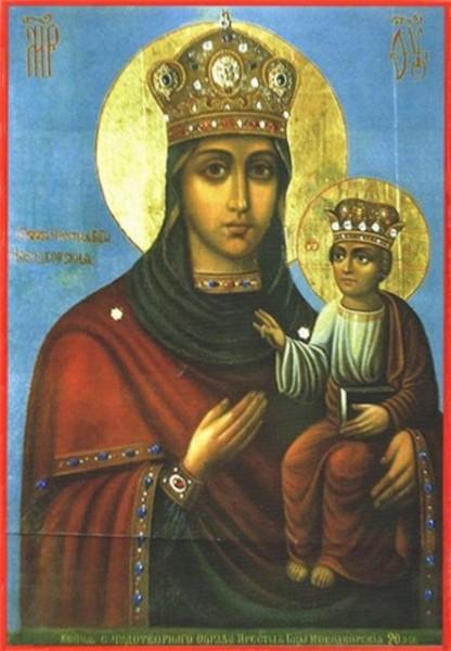 Икона Богородицы Новодворская