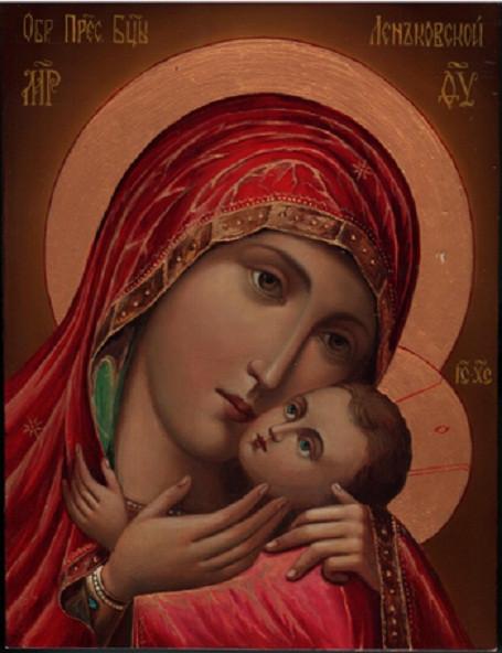 Икона Богородицы «Спасительница утопающих» (Леньковская, Новгород-Северская)