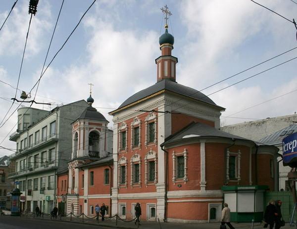 Московский Никольский храм в Кленниках