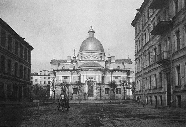 Церковь Рождества Христова на Песках, утрачена - снесена в 1934 году, сейчас на местек церкви сквер
