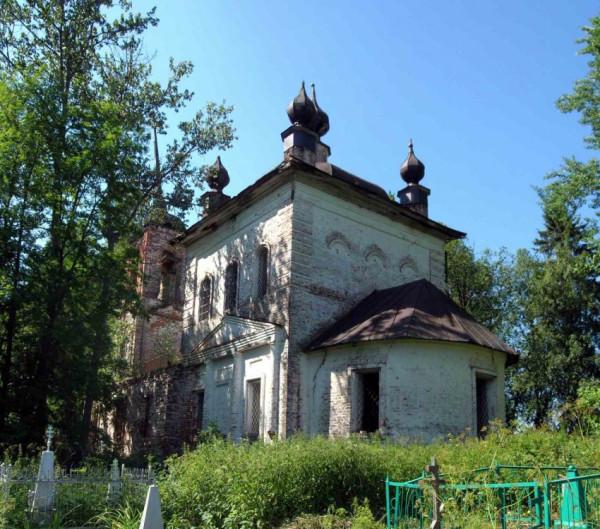 Церковь Спаса Нерукотворного образа - Спас-Лом - Череповецкий район, не действует