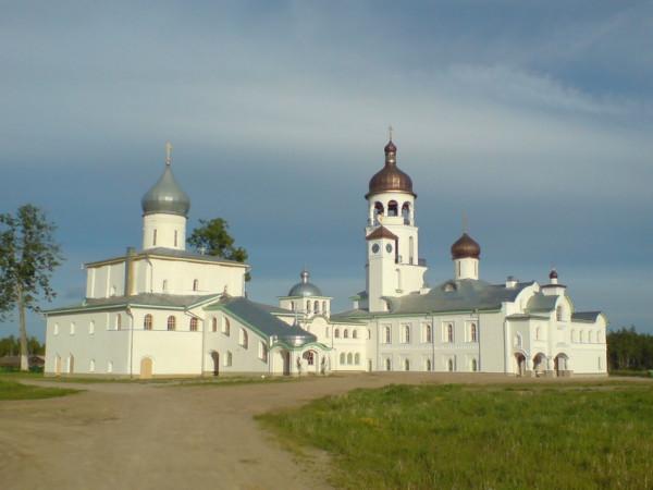 Иоанно-Богословский Крыпецкий мужской монастырь - Крыпецкое - Псковский район