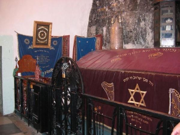 Гробница царя Давида на горе Сион