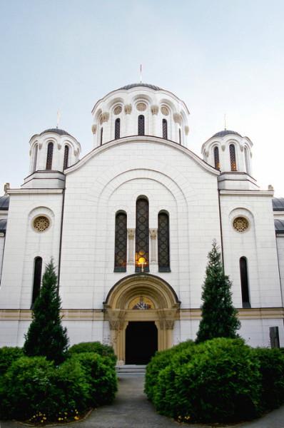 Введенский монастырь в столице Сербии Белграде
