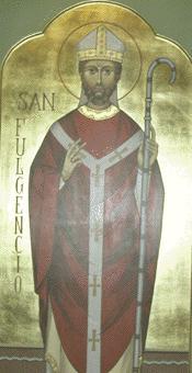 Святитель Фульгентий (Фульгенций), епископ Руспийский