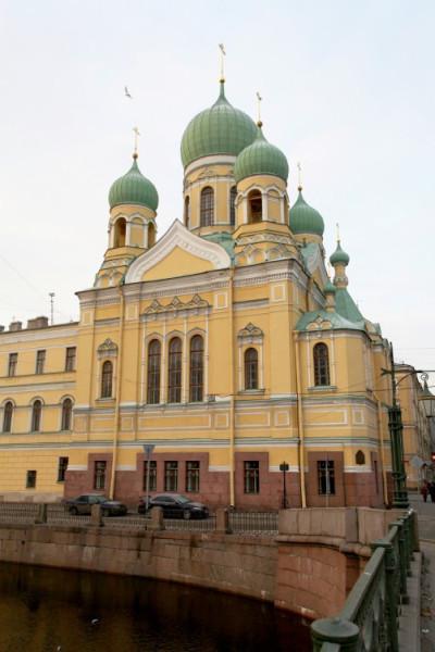 Церковь Исидора Юрьевского и Николая Чудотворца - Адмиралтейский район - Санкт-Петербург