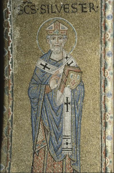 Святитель Сильвестр I, папа Римский