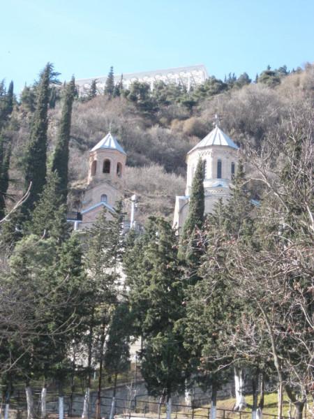 Церковь Давида Гареджийского - Тбилиси - Грузия