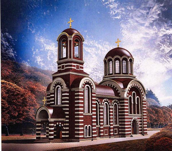 проект храма Спиридона Тримифунтского в Коптево