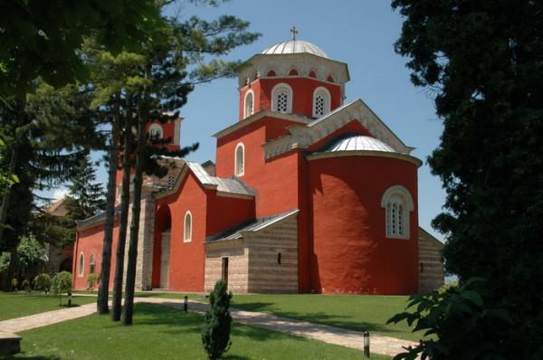ЖИЧСКИЙ МОНАСТЫРЬ, Сербия