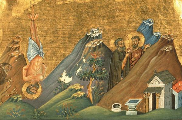Преподобномученик Зосима пустынник и мученик Афанасий