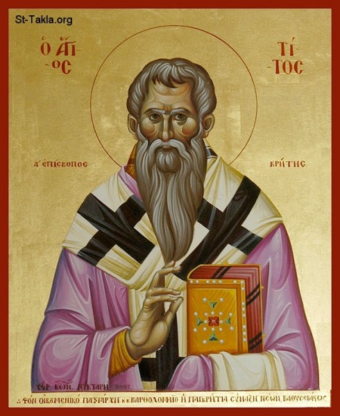 апостол Тит, 70