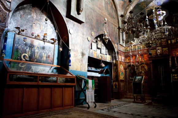главный храм монастыря Георгия Хозевита. в храме покоятся мощи св. Георгия Хозевита, св. Иоанна Нового (Румына) и др. святых