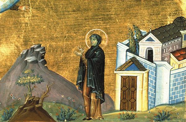 Преподобная Домника Константинопольская, игумения