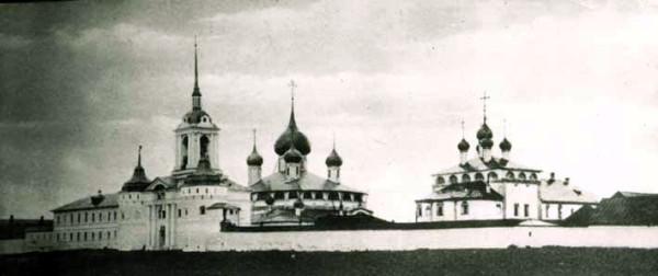 Угличсккий Покровский монастырь, фото начала XX века