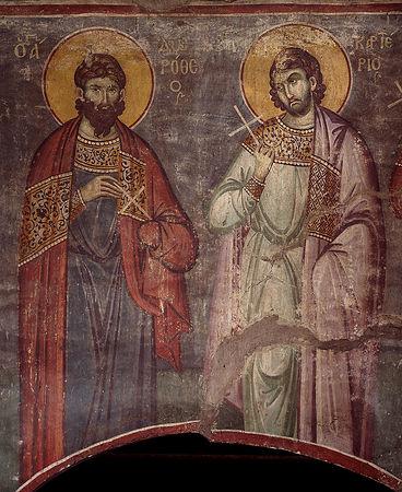 Священномученик Картерий Кесарийский (Каппадокийский), пресвитер