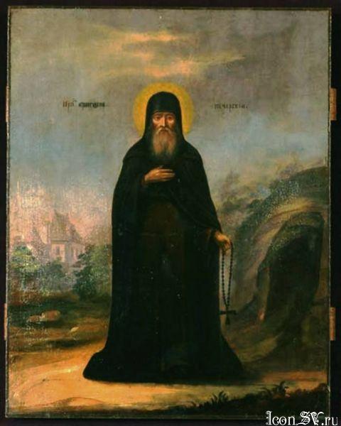 Преподобный Григорий, чудотворец Печерский, в Ближних пещерах