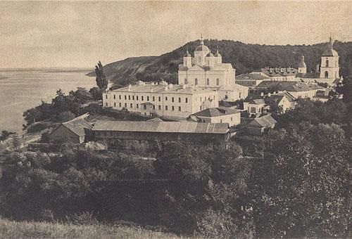 Киево-Межигорский Спасо-Преображенский монастырь, разорен в 1934 году