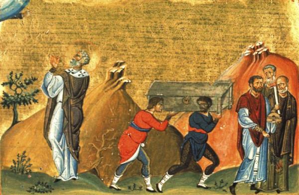 Преподобный Дометиан Мелитинский, епископ