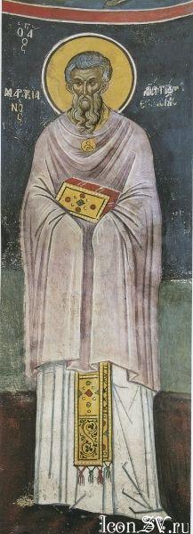 Преподобный Маркиан Константинопольский, пресвитер