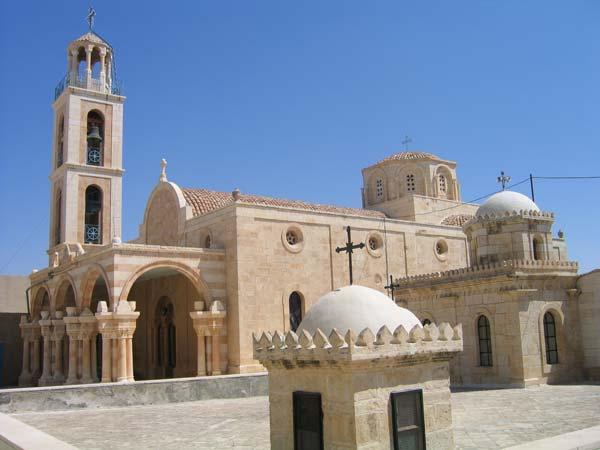 Монастырь преподобного Феодосия Великого в 12 км от Вифлиема, Израиль