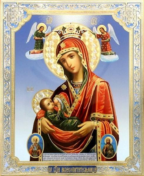 Икона Богородицы «Млекопитательница»