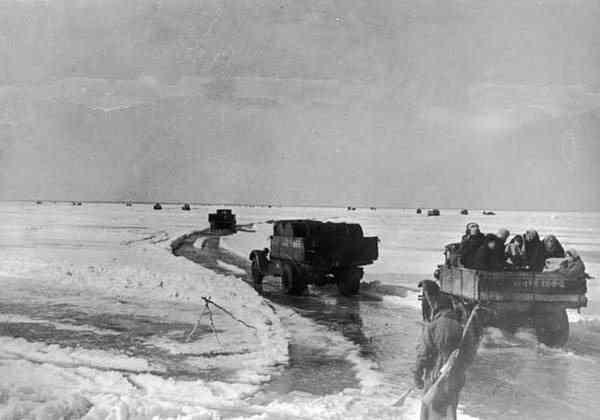 блокада Ленинграда дорога жизни