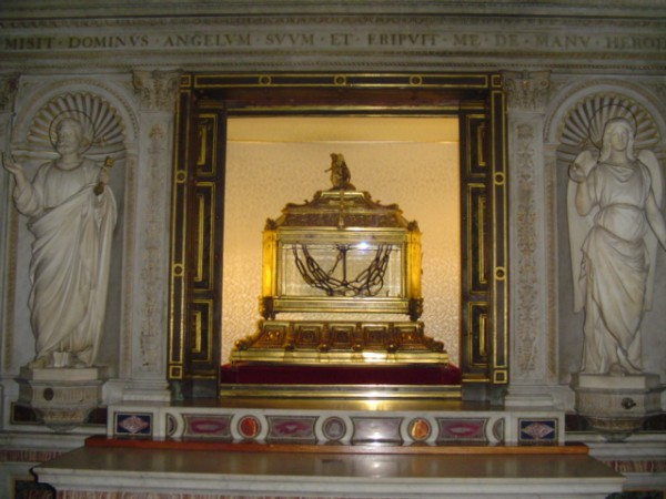 верили апостола Петра в соборе San Pietro in Vincoli (Сан-Пьетро-ин-Винколи) в Риме