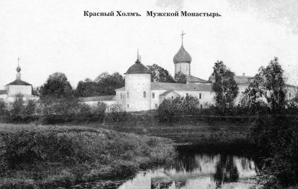 Краснохолмский Николаевский Антониев Монастырь, фото начала XX века