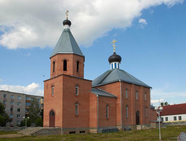 Смолевичи церковь святого Николая - современное здание