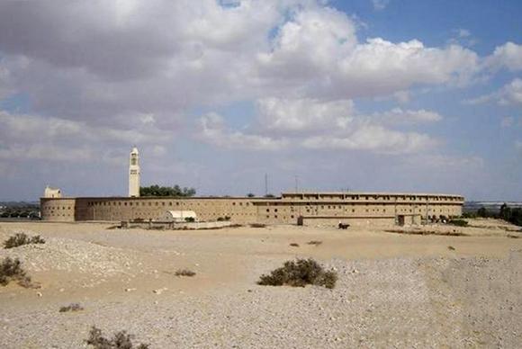 Монастырь Макария Великого (Monastery of Saint Macarius the Great), Скитская пустынь, Египет