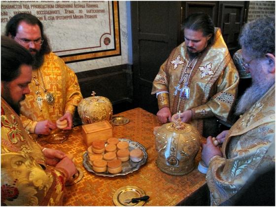 Интронизация Патриарха Московского и всея Руси Кирилла, храм Христа Спасителя, Москва, 1 февраля 2009 года 112