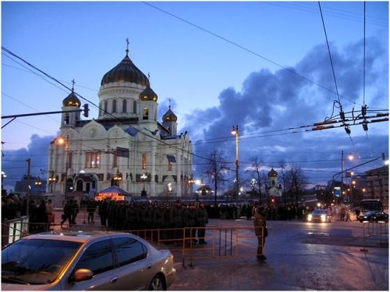 Интронизация Патриарха Московского и всея Руси Кирилла, храм Христа Спасителя, Москва, 1 февраля 2009 года 114